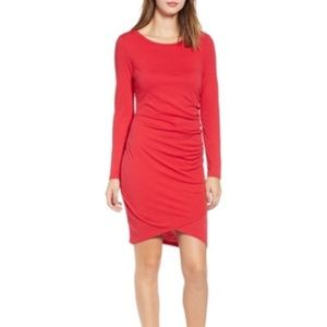 LEITH RED DRESS SIZE:XL Color: red new with tags